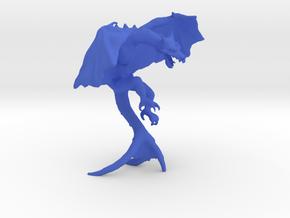 Fire Drake in Blue Processed Versatile Plastic
