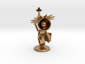 Lala - State of liberty - DeskToys in Polished Brass