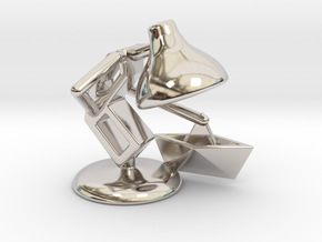 """JuJu - """"Playing with paper boat"""" - DeskToys in Platinum"""
