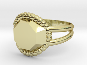 Size 6 Diamond Ring A in 18k Gold