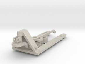Manual pallet truck 1:50 in Natural Sandstone