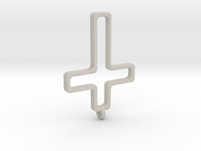 Hollow Cross in Natural Sandstone