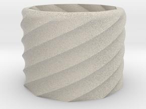 30mm tall vase in Natural Sandstone