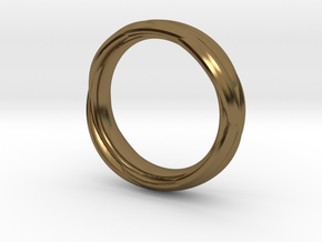 Ring 7 in Polished Bronze