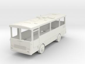 Magirus R81 Bus in White Natural Versatile Plastic