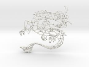Dragon3b in White Strong & Flexible