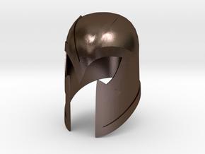 Magneto Helmet - First class  in Polished Bronze Steel