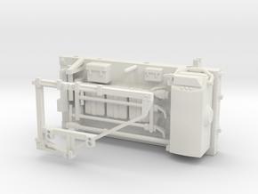 11C-Rear Pallet - Apollo 17 With Gravimeter Attach in White Natural Versatile Plastic
