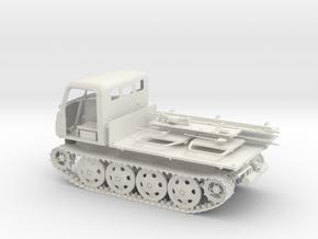 German WW2 Raupenschlepper RSO/01 1:18 scale in White Natural Versatile Plastic