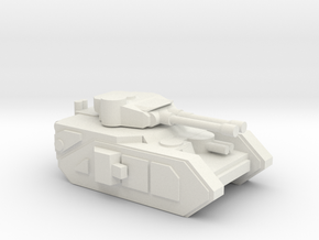 [5] Heavy Tank (AT) in White Natural Versatile Plastic