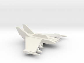 [5] Light Strike Fighter in White Natural Versatile Plastic