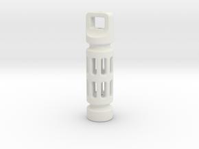Tritium Fob 3dp Unkillable in White Natural Versatile Plastic