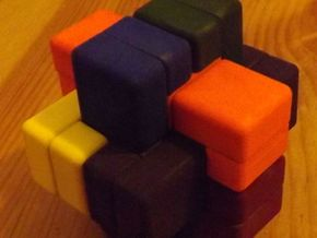 Six Cube in White Strong & Flexible