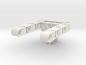 Diff Frame 5x7x1 in White Natural Versatile Plastic