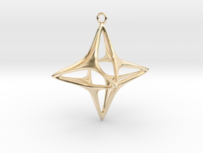 Christmas Star No.1 in 14K Yellow Gold