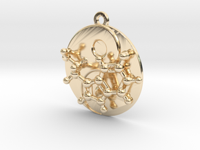 Happy Balance in 14k Gold Plated Brass