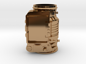 Pip-boy 3000 (WEARABLE MODEL SOON) in Polished Brass