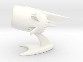 Jet Engine Desk Display in White Processed Versatile Plastic