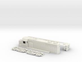 TT Scale SDL39 in White Natural Versatile Plastic