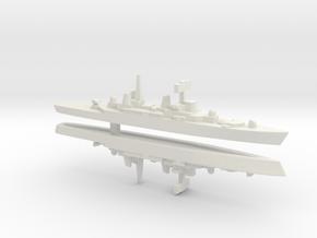 HMS Bristol x 2, 1/3000 in White Strong & Flexible