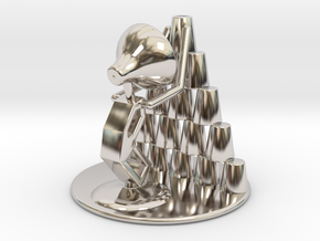 """Juju """"Playing with cups""""  - DeskToys in Platinum"""