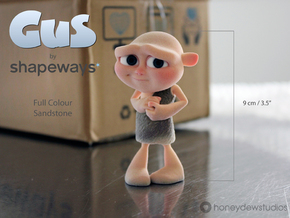 Gus Figurine - Medium - Full Colour Sandstone in Full Color Sandstone
