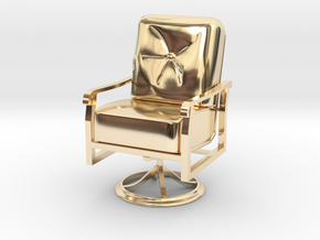 Mini Chair in 14K Yellow Gold