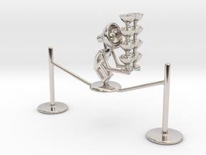 "Lala ""Walking in rope & balancing wine glass"" - De in Platinum"
