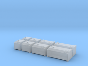 H0 1:87 Hydrauliköltanks in Smooth Fine Detail Plastic