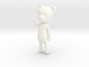 Among the Sleep Teddy Bear in White Processed Versatile Plastic