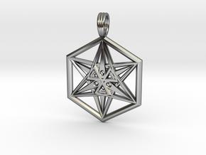 ALIEN STARSHIP in Premium Silver
