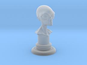 Alien-04 in Smooth Fine Detail Plastic