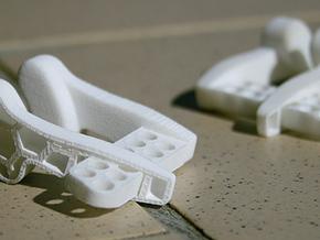 Noseclipv11R in White Natural Versatile Plastic