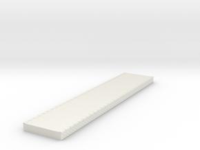 NQP05 Railway platform in White Natural Versatile Plastic