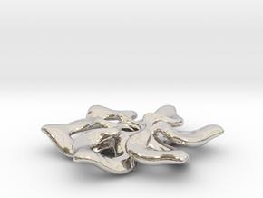 Confluence Pendant: Small in Platinum