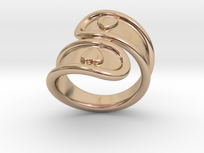 San Valentino Ring 26 - Italian Size 26 in 14k Rose Gold Plated