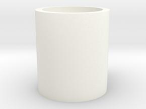 Monopoly Mug Custom Peice in White Processed Versatile Plastic