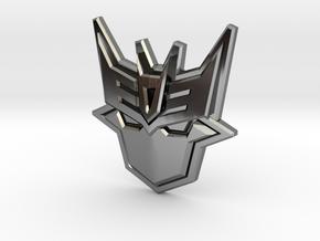 Doomie Badge of Doom in Premium Silver