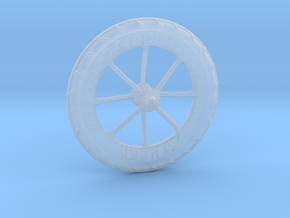 Pocket highway wheel set in Smoothest Fine Detail Plastic