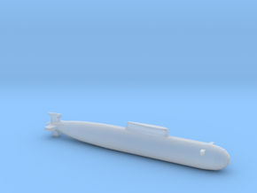 Sierra-II Class SSN, Full Hull, 1/2400 in Smooth Fine Detail Plastic