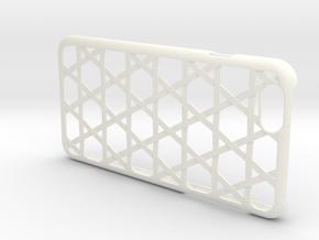 """iPhone6/6s Case """"Kago"""" in White Processed Versatile Plastic"""