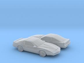 1/160 2X 1982 Pontiac Firebird Custom in Smooth Fine Detail Plastic