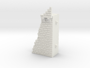 NF7 Modular fortified wall in White Natural Versatile Plastic