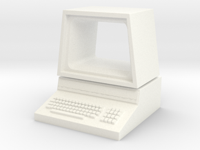 Pet Computer in White Processed Versatile Plastic