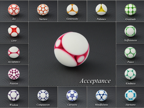 LuminOrb 2.6 - ACCEPTANCE in Full Color Sandstone