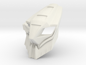 Mask of Rahi Control - Kualus in White Natural Versatile Plastic