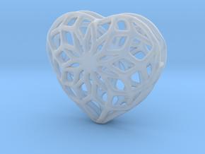 Valentine Heart - Big in Smoothest Fine Detail Plastic