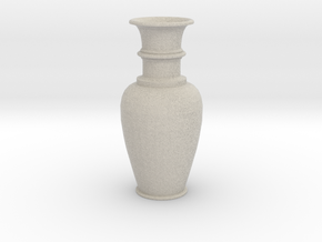 Vase Elegant in Natural Sandstone