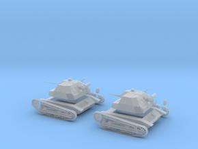 Polish Tks light tank 20mm gun 1:48 28mm wargames in Smooth Fine Detail Plastic
