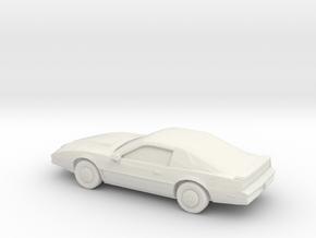 1/87 1982 Pontiac Custom in White Natural Versatile Plastic